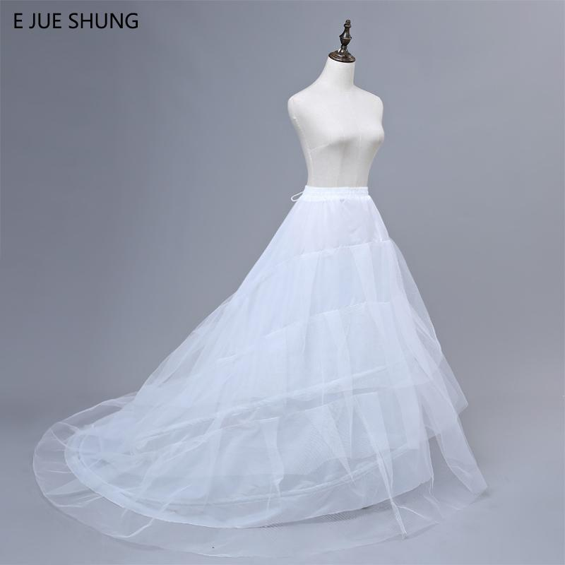 3-Styles Plus Size//Normal Size White Wedding Gown Petticoat Slip Underskirt