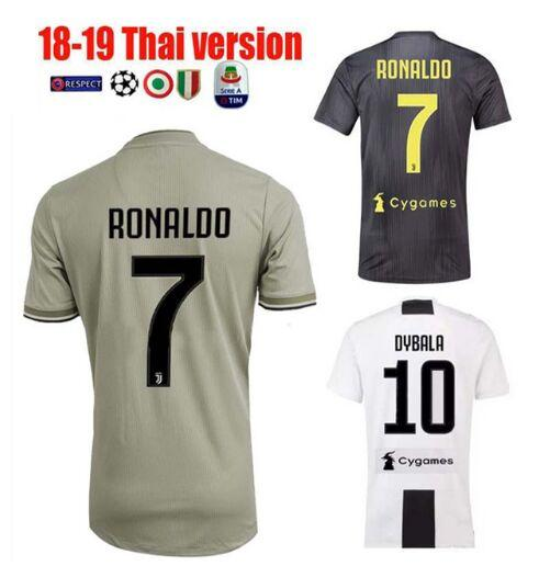 Champion Foot Xxl jerseys Aaron Dybala From Juventus 14 Jerseys 52 Maglie Football A Ronaldo Serie De Voetbal League 2019 com Dhgate Patch Soccer Cristiano Italia Maillot