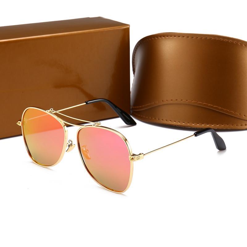 a791f5923eb New GG0096 Polarized Sunglasses Luxury Women Brand Designer Pilot Style  Sunglasses UV400 Lens Full Frame Popular Glasses For Outdoor Driving Native  ...