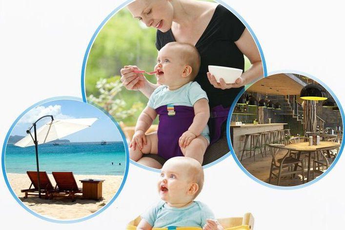 Seggiolone portatile Seggiolino neonati Prodotto Pranzo Sedia / Seggiolino Cintura di sicurezza Alimentazione Seggiolone Imbracatura Seggiolone seggiolone JHW221