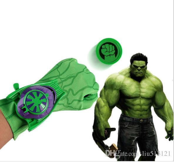 / New Spider Man Gloves Launcher Boy Cosplay Props Ejection Wrist Catapult Launcher Elastic Gloves Children Kids Dress Up Toys for boys