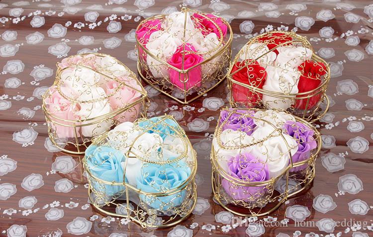 Bagno Romantico San Valentino : Acquista san valentino rose placcate in oro placcato in ferro rosa