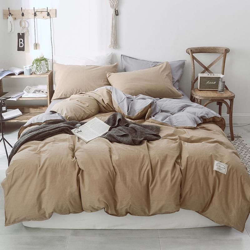 Super Single Bed Sheet Sets Queen Duvet Cover Set Cotton Designer Bedding  Set Flat Sheet Set Pillowcase Comforter Sets Sale Black And White Duvet Set  From ...