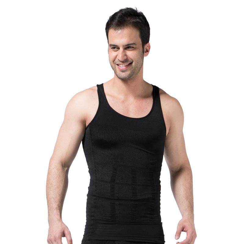 c99c2e5b0c Men Slim Body Lift Shaper Belly Fatty BUSTER Underwear Vest Corset ...