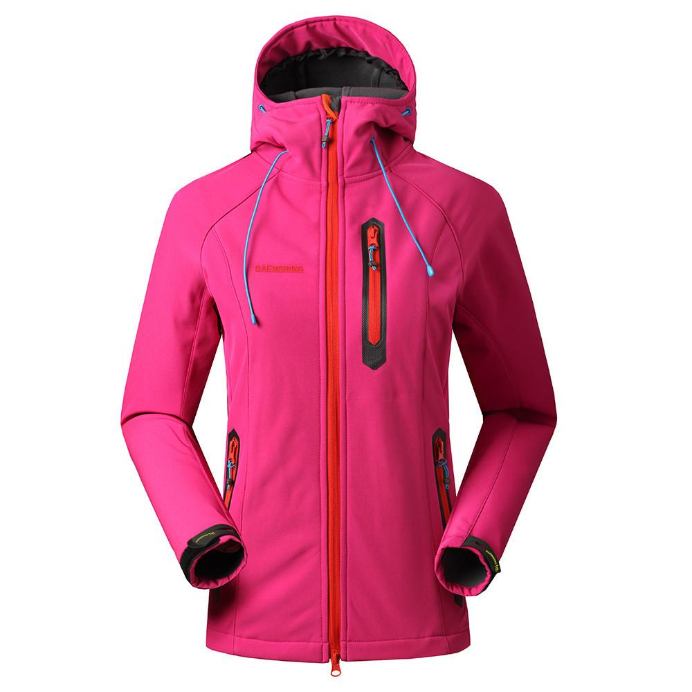 7f362f4768796 2019 Saenshing Softshell Jacket Women Brand Waterproof Rain Coat Outdoor Hiking  Clothing Female Windproof Soft Shell Fleece Jackets From Soutong