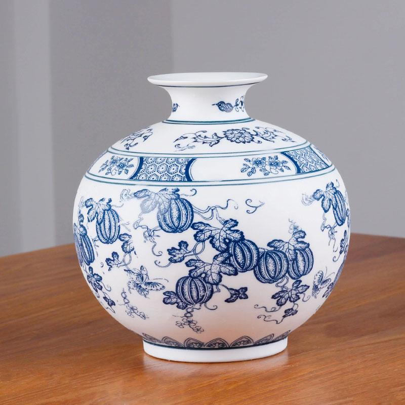 Chinese Style Jingdezhen Classical Blue And White Porcelain Kaolin
