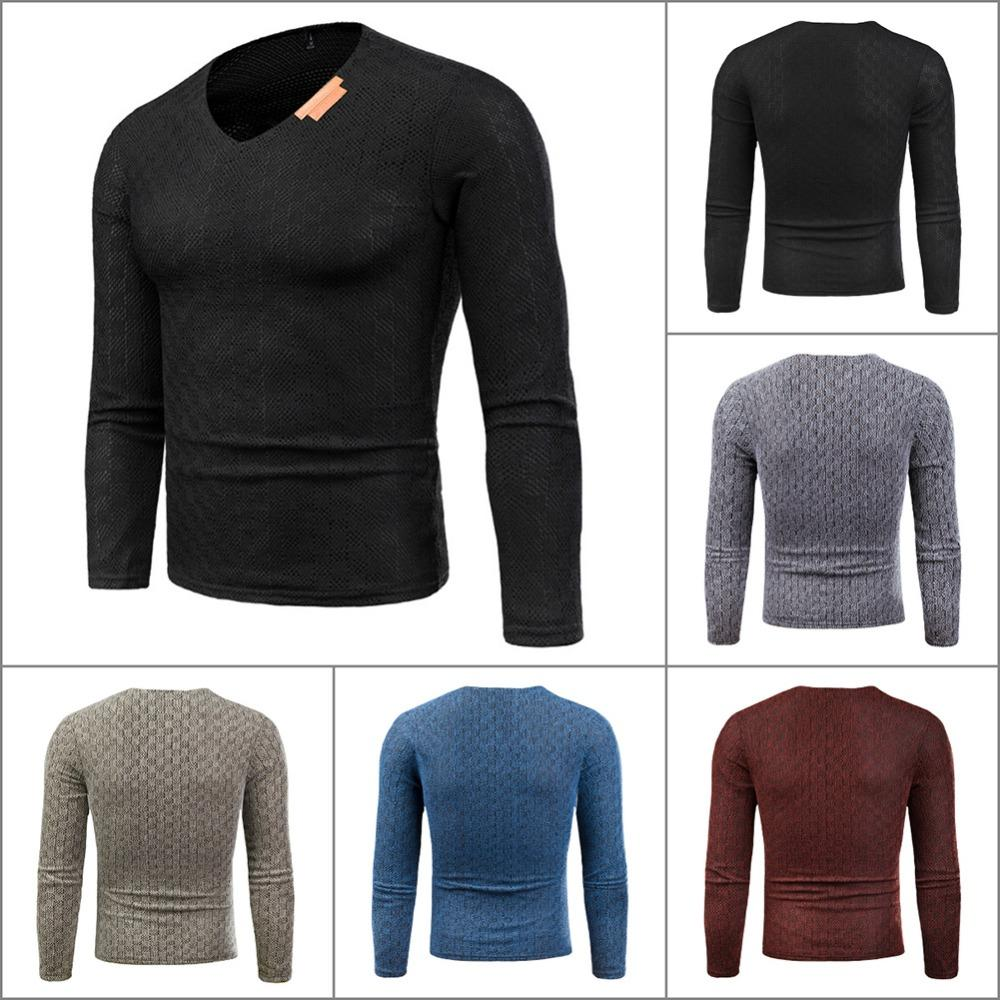 7aabbd436 Long Sleeve Knit Shirt With Collar