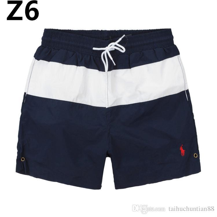 76f9d672c5419 2019 Summer Mens Swimwear Boys Board Shorts Pants Navy Beach Surfing Shorts  Men Swimming Trunks Swim Short Swimsuit Elastic Gym From Taihuchuntian88