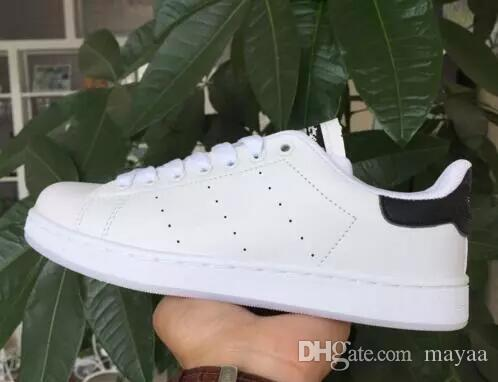 low priced 8b7c6 af324 2018 Hot!classic style Stan Smith shoes men s women casual shoes 36-44  white musial Stan Smith skateboard shoes