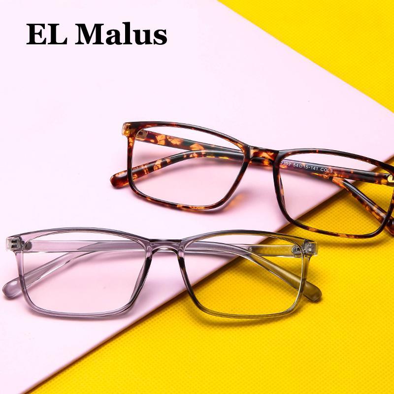 a72b9dd52 Compre EL Malus Fino Quadrado Óculos De Armação Das Mulheres Dos Homens  Óculos De Lente Transparente Clara Leopardo Shades De Beasy110, $39.65 |  Pt.Dhgate.