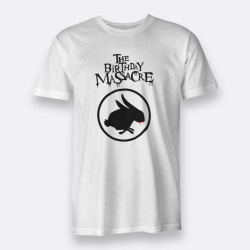 The Birthday Massacre T Shirts Tees For MenS White S XXXL Size Purchase Silly Shirt From Banwanyue2 1168
