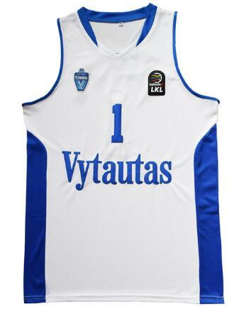 1 LaMelo Basketball Jersey  3 LiAngelo Ball  99 Lavar Ball Lithuania  Vytautas Jerseys Stitched Men White UK 2019 From Lejerseys d1b5aafc5