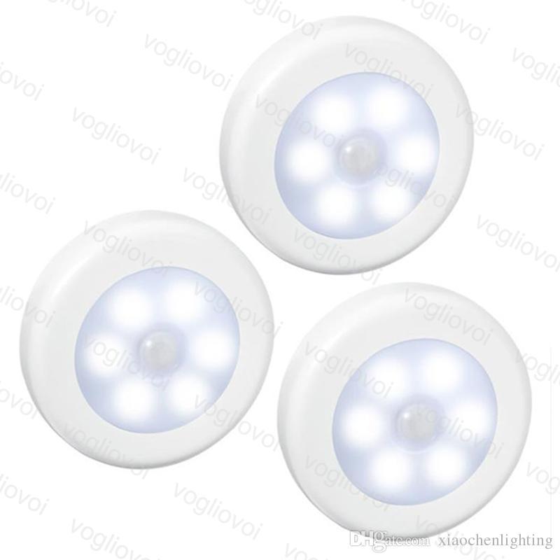 Grosshandel Led Lampe Bewegungsmelder Nachtlicht Warmweiss 6leds 4 5w