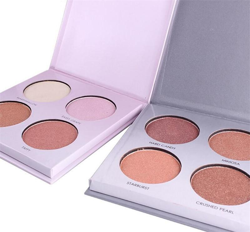 Мисс Роза макияж румяна свечение комплект 4 цвета Румяна порошок палитра лица маркеры косметические, что Луна ребенок Аврора 6 цветов 9 стилей DHL