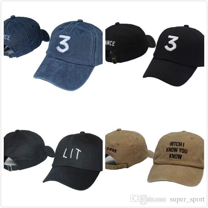 5dd63fc5f08c33 High Quality Chance 3 The Rapper Caps Streetwear Kanye West Dad Letter Baseball  Cap Coloring Book 6 Panel LIT Hats For Men Women Ball Cap Wholesale Hats ...