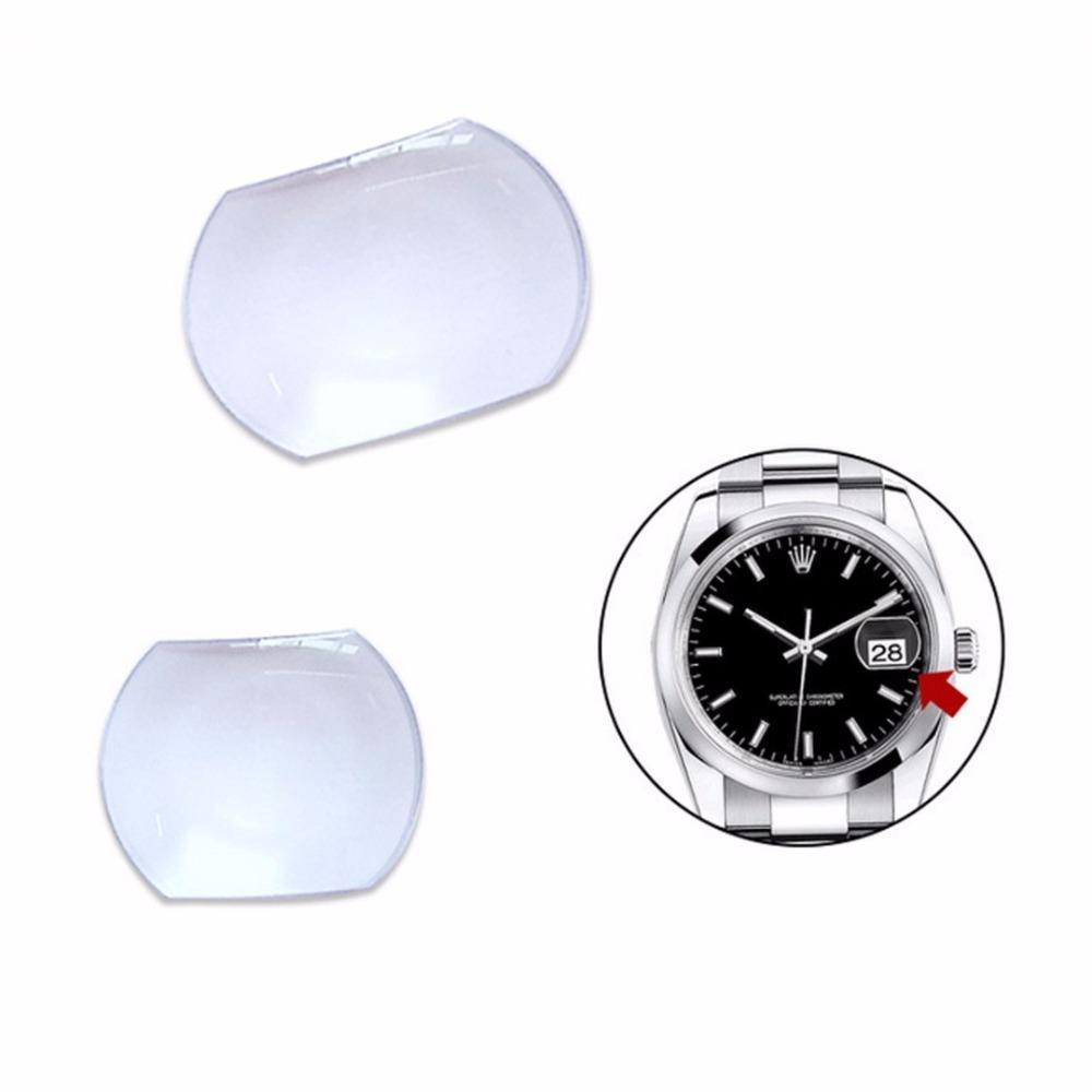 Cristal Adecuado Lupa De Tamaños Fecha Reloj Para Ventana La Bubble Lente Sapphire Shellhard 2 1 Unid oeWrBQdECx