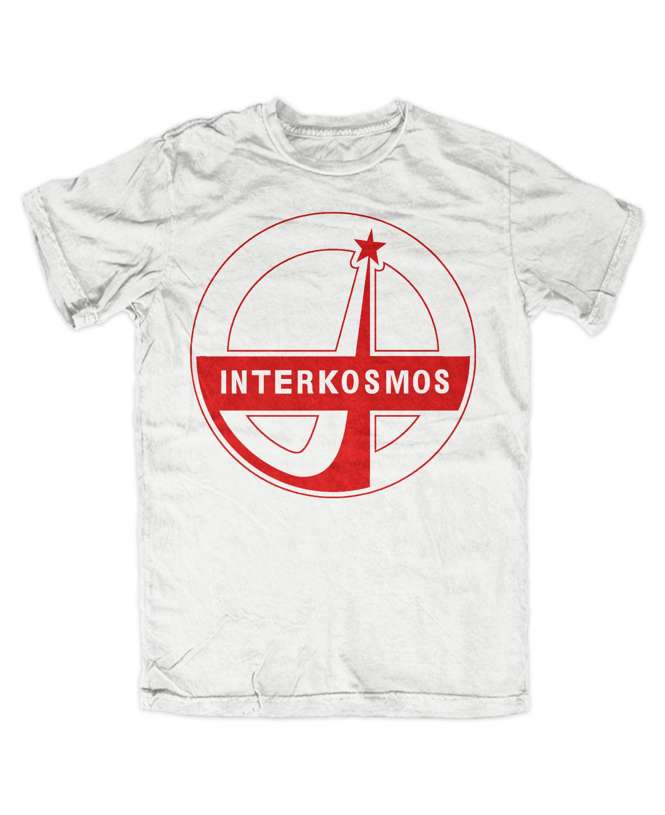 c7c3d5425fc Details Zu Interkosmos T Shirt WEISS UDSSR,Russia,Retro,Kult,Ost,DDR,CCCP,Kosmonaut  Funny Unisex Casual Gift T Shirt Shop Design Crazy T Shirts Online From ...