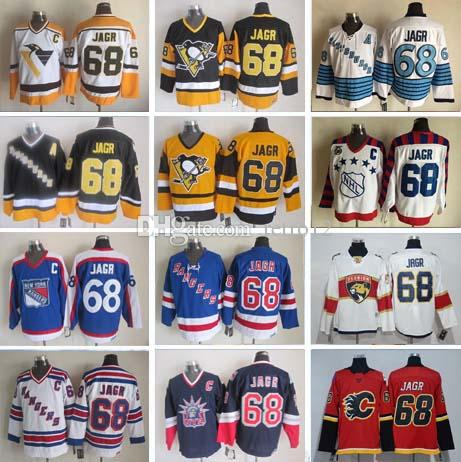 2019 1998 Vintage Ice  68 Jaromir Jagr All Star Hockey Jersey Stitched  Calgary Flames New York Rangers Florida Panthers Jerseys From Retro12 af1d27d0a