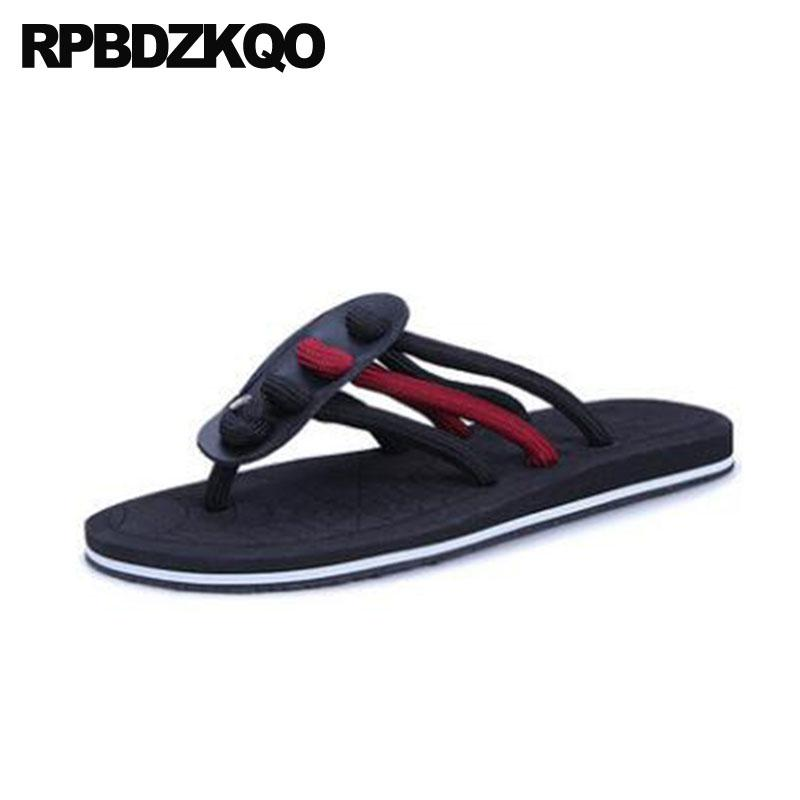 844be75ac5f3 Shoes Japanese Slides Black Flip Flop Men Gladiator Sandals Summer Large  Size Native Sneakers Slippers Nice Roman 45 Big Red Platform Shoes Prom  Shoes From ...