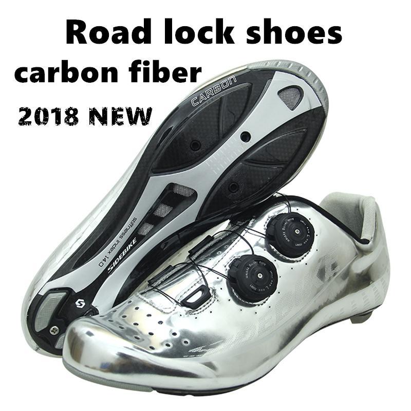 447277935f 2018 Nueva Bicicleta De Carretera Profesional Que Monta Zapatos De Bloqueo  De Material De Fibra De Carbono Ultra Ligero Zapatos De Bicicleta Envueltos  ...