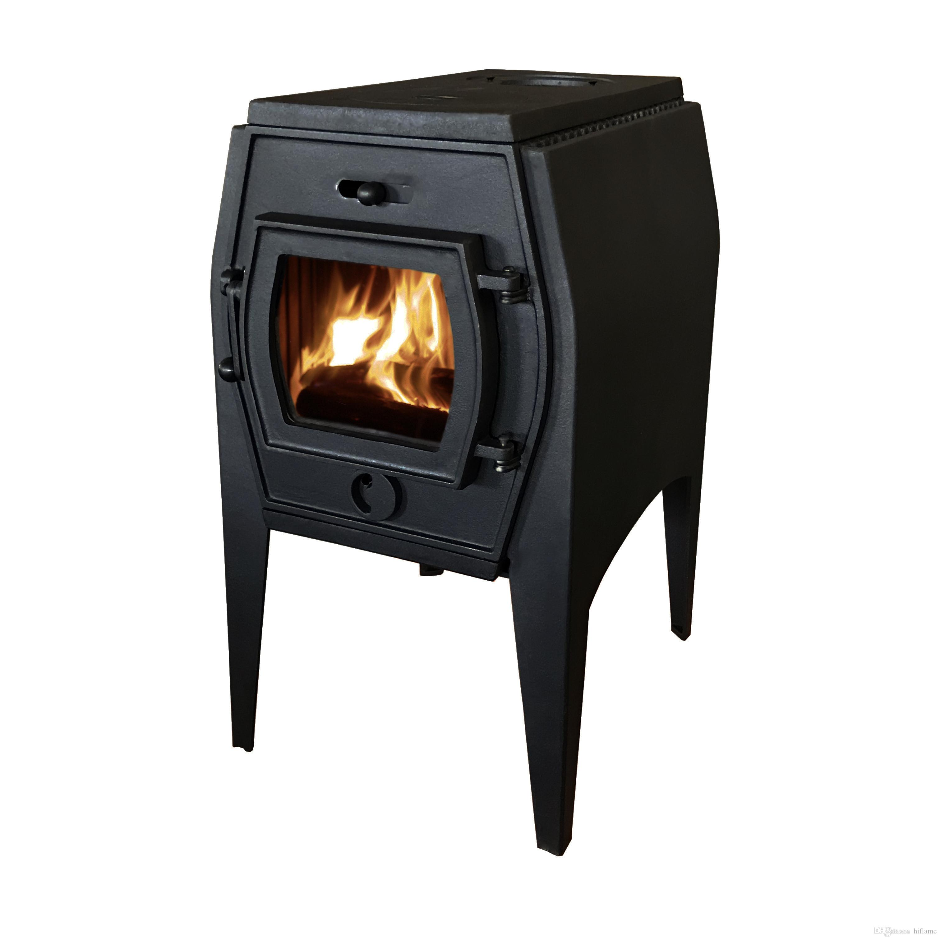 67e8a19a36d9 2019 HiFlame Elena 7KW Cast Iron Wood Heating Stove With Double Heat Shield  HF706A From Hiflame