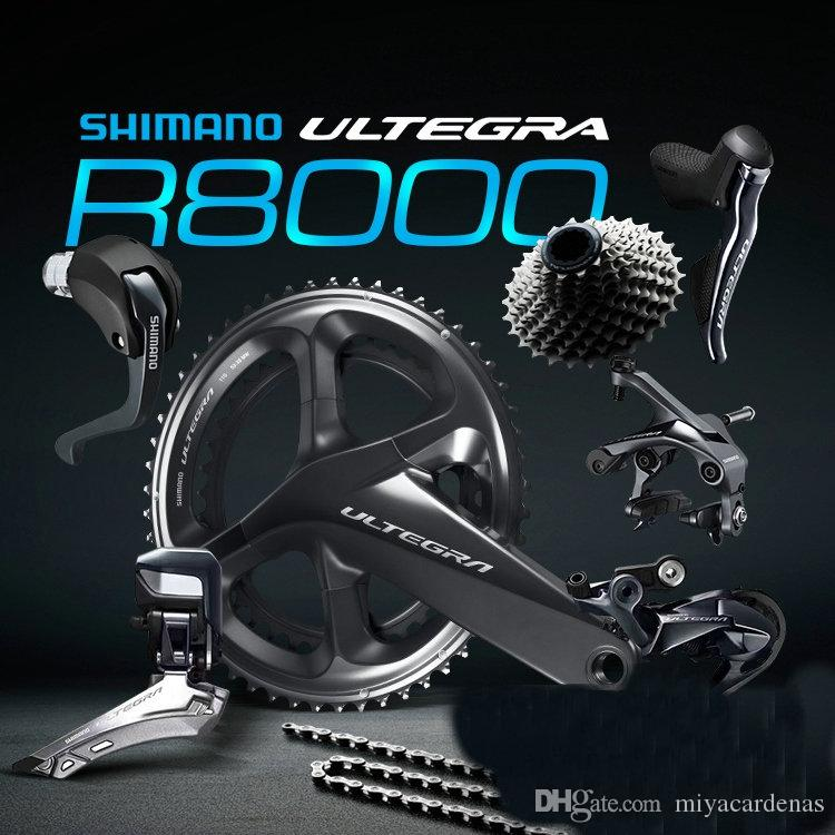 ORIGINAL Shimano Ultegra R8000 Road Bike Bicycle Groupset 170/172 5/175mm  53-39T 50-34T 52-36T fast shipping