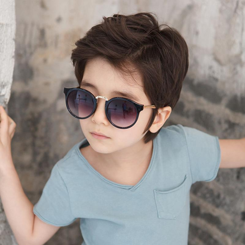 5e297fc3e3f 2019 Vazrobe Round Kids Sunglasses For Children Boys Girls Sun Glasses  Boy s Sunglass Mirrored Uv400 High Quality 2017 Cool Fashion From Sightly