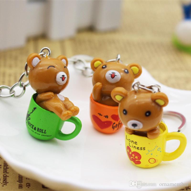 Acquista simpatico cartone animato orso con coppa creativo moda