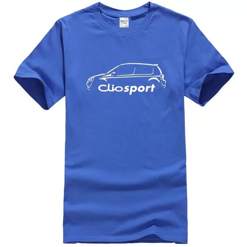 Acheter Renault Clio Sport 182 Tasse De Voiture Classique T Shirt Nouvel  Été Style Hommes Chemises À Manches Courtes Tendance Vêtements De  11.36 Du  ... 56ca91feb1a