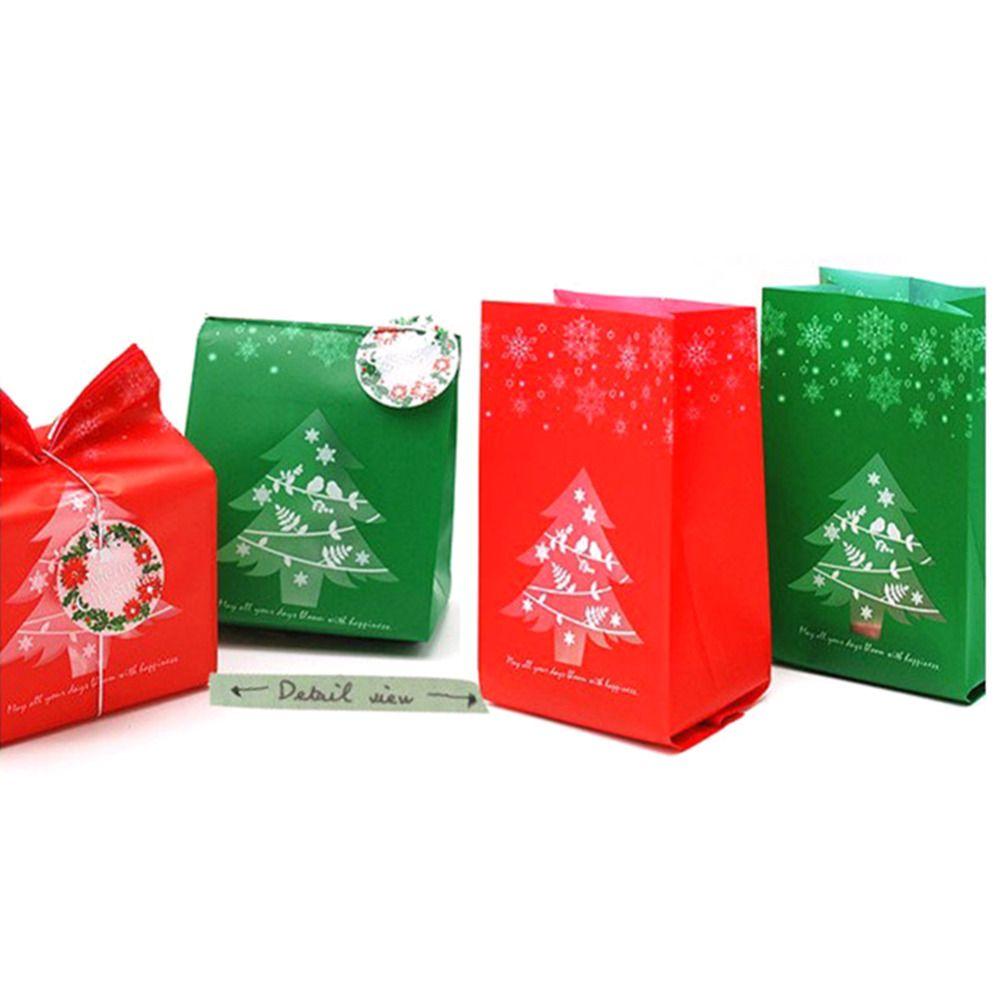 xmas bag christmas kraft paper candy box gift box for children