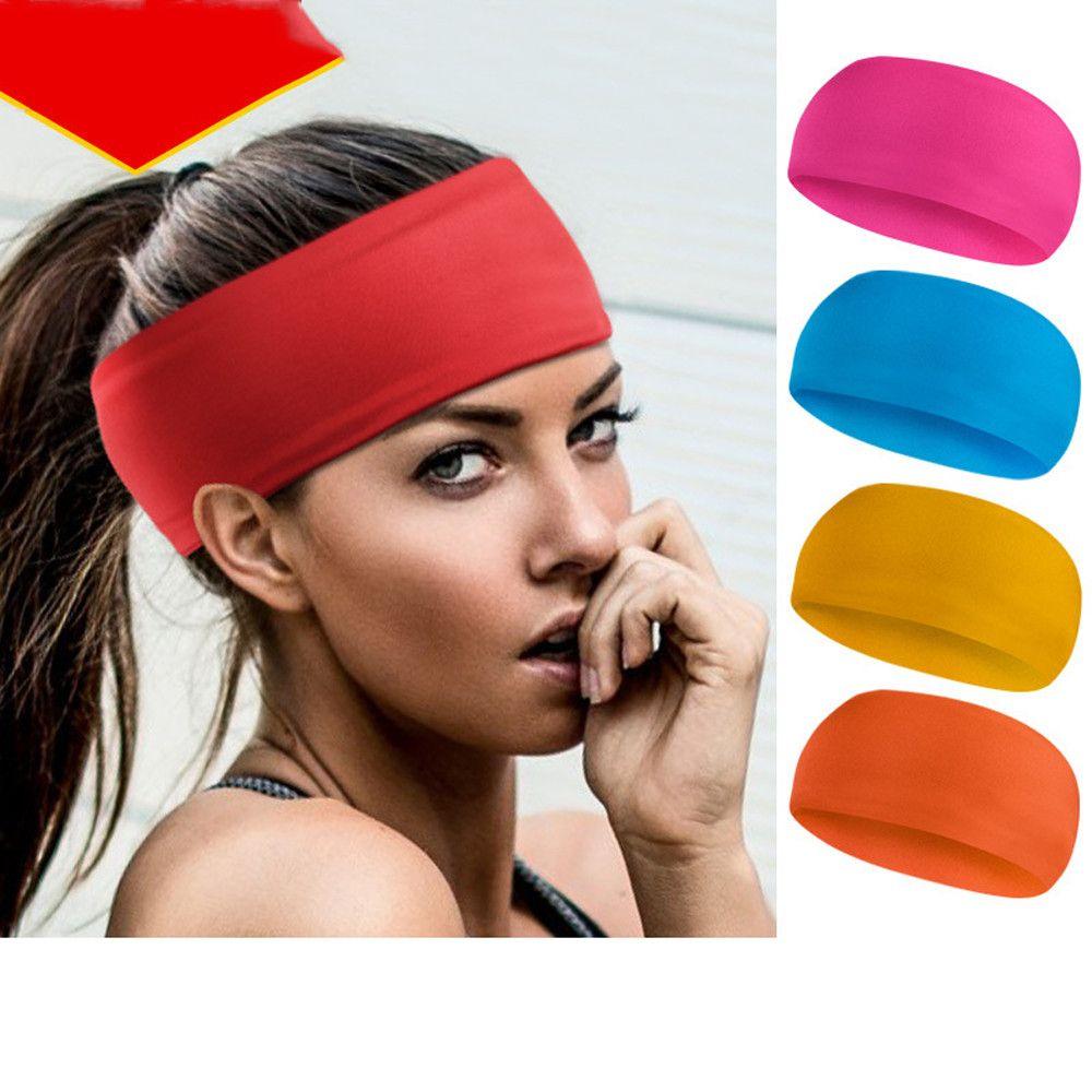00927a808d68 2019 Women Men Sport Sweat Sweatband Headband Yoga Gym Hairband Sweat  Hairband Elastic Hair Band Turban Headband For Sports  2W From Mssweet