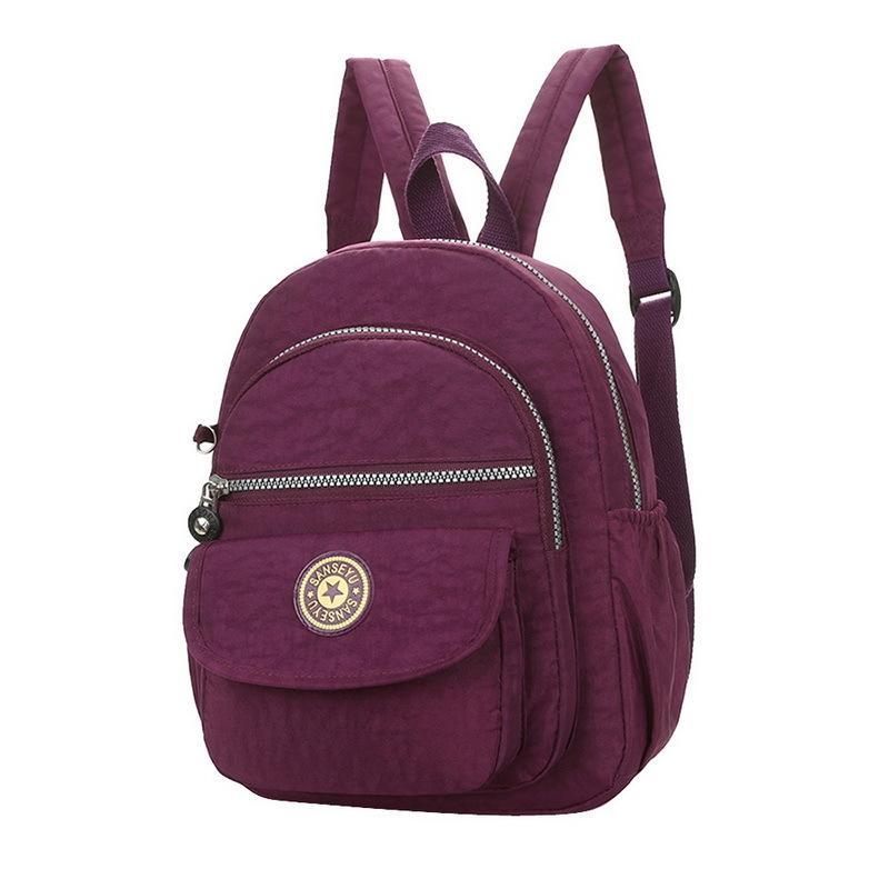8109b8e6af 2019 Fashion NIBESSER Fashion Women Waterproof Nylon Backpack Korean Style  Designers Shoulder School Bag Leisure Rucksack For Girls Backbag Jansport  ...