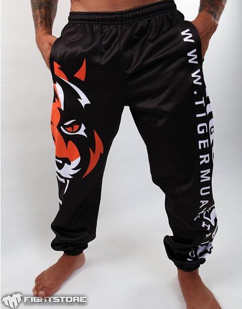 Großhandel Tiger Sport Muay Thai Hosen Schwarz Weiß Farbe M L Xl
