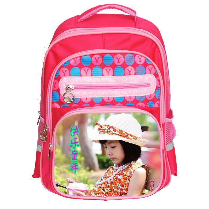 i sacchetti di scuola dei capretti della scuola primaria stampano la stampa al minuto del tranfer di vendita al dettaglio della borsa del bambino di disegno o di foto del bambino