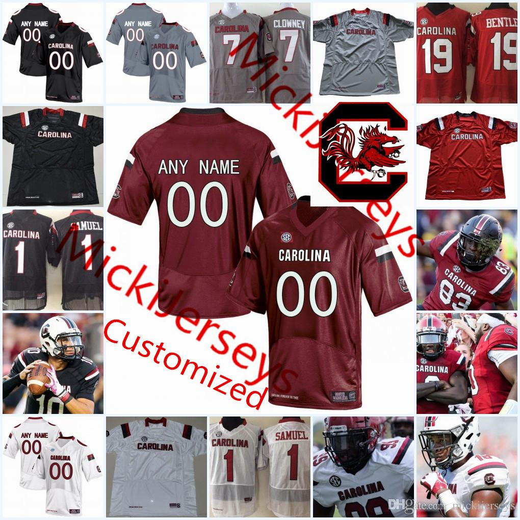 2019 Custom NCAA South Carolina Gamecocks College Football Jersey Kingsley  Enagbare Jay Urich Danny Gordon Chavis Dawkins Gamecocks Jersey From  Mickijerseys ... b32e91175