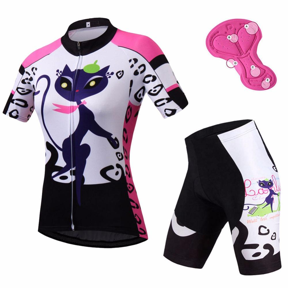 Ladies Cycling Clothing Sets Short Sleeve Women S Cycling Jersey   Spandex Shorts  Kit Mtb Bike Bicycle Clothing Girls Cycling Wear Womens Cycling Shorts Mtb  ... 966f7299e