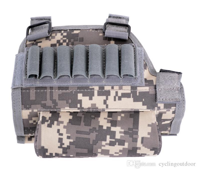 Fusil de chasse tactique Reste de joue Buttstock Gun Bullet Stock