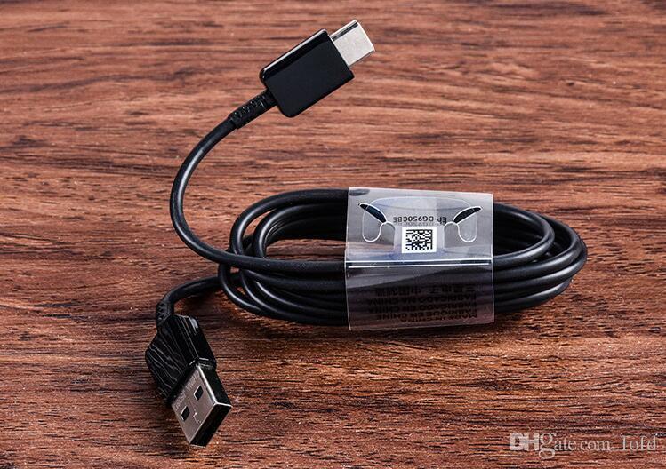 Cavo Micro USB 1.5M V9 V9 Caricatore di sincronizzazione dati di alta qualità Ricarica rapida Samsung NOTE 4 S6 S7 1.2M Cavo di tipo C S8 S9 50 pezzi