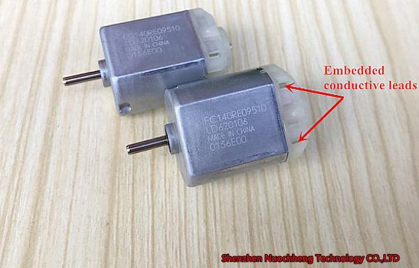 새로운 Mabuchi 140 마이크로 DC 모터 FC-140RE 15 * 20 * 25mm 12V 8000r / 분 후면 미러 / 헤드 조명 조절기 모터 ~
