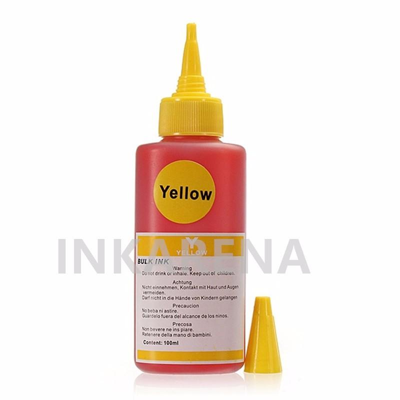 Dye ink 100ml bottle ink Yellow