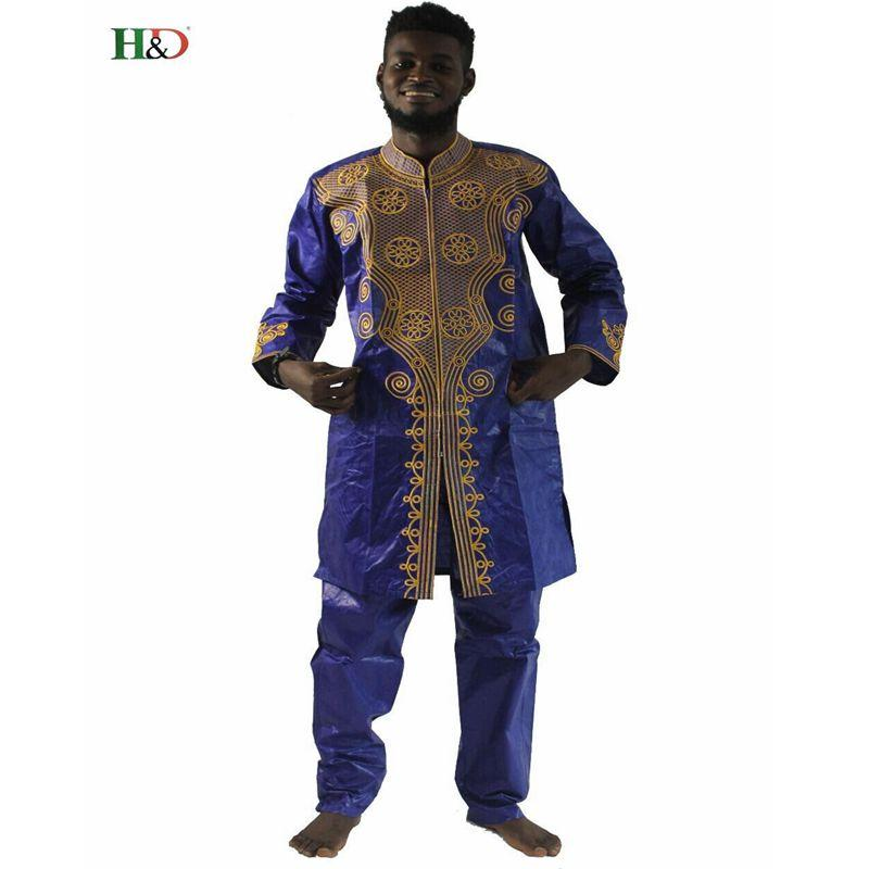 Acquista HD Uomo Africano Abbigliamento Uomo Vestiti Dashiki Africano Riche  Bazin Top Pantaloni Set Abiti Maschili Vestito Set A  47.05 Dal Splendid99  ... 3c7ba24e477