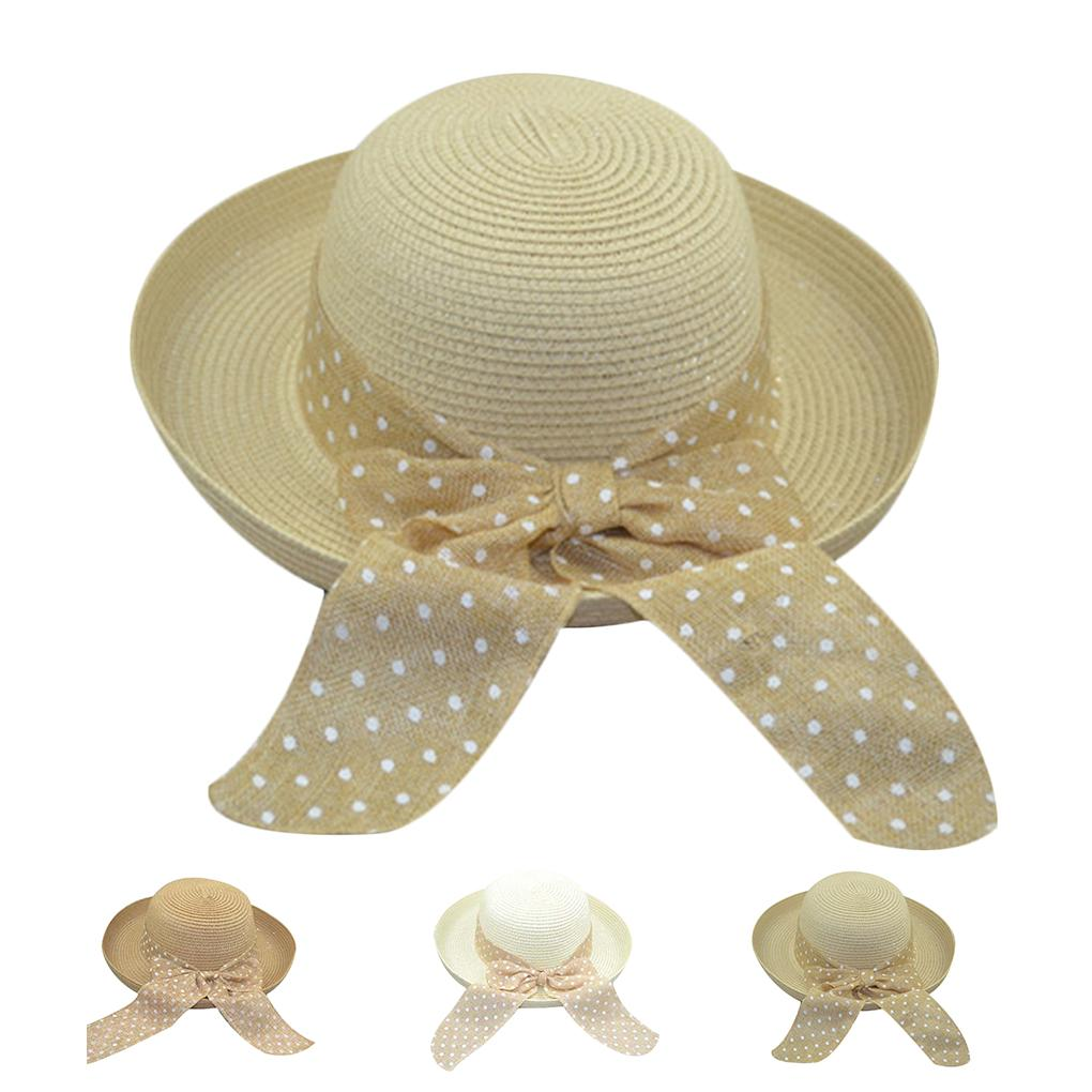 f69b7004 Hot 2018 Summer Fashion Women'S Beach Hats Caps Foldable Chiffon Floppy Sun  Hats Casual Ladies Sombreros Bowknot Hat Ladies Trilby Stetson Hats From ...