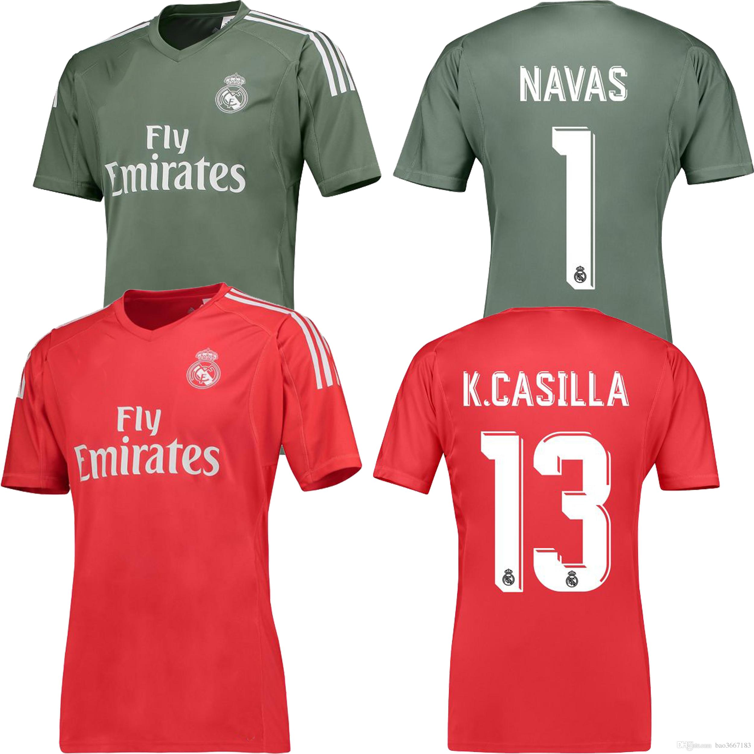 Maillot THIRD Real Madrid K. Casilla
