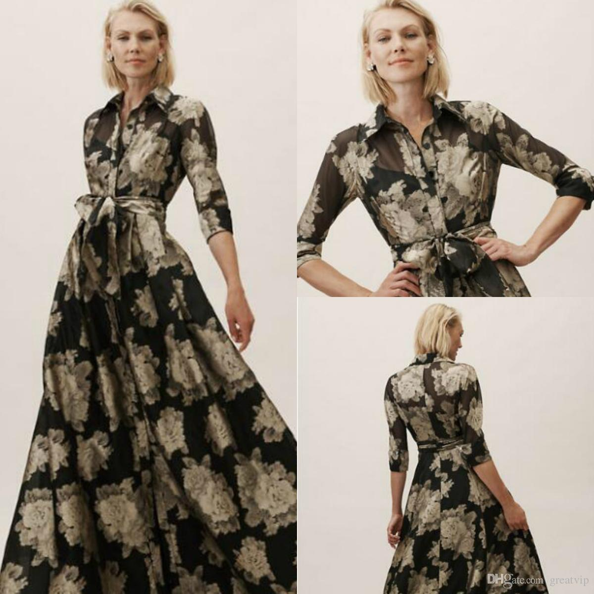 b75d54b5fbe 2019 R M Richards Mother Of The Bride Dresses Elegant Loose Flower Pattern  Chiffon Plus Size Floor Length Abendkleid Mother s Dress