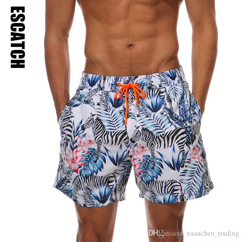ca2f4de5dde 2019 Fashion Zebra Pattern Mens Shorts Surf Board Shorts Summer Sport Beach  Homme Bermuda Short Pants Quick Dry Boardshorts Wholesale From  Xuanchen_trading, ...