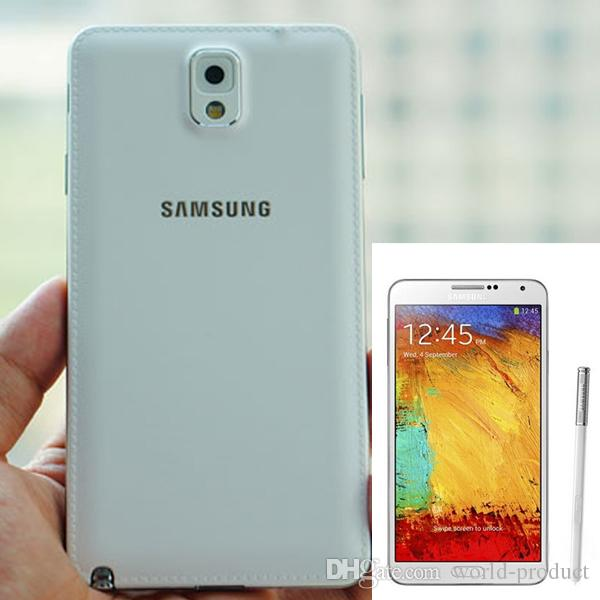 Original Refurbished Samsung Galaxy note 3 N9005 mobile phone ROM 16G  Android 4 3 Quad Core 3G RAM 13MP Camera 5 7