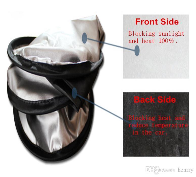 Car Sunshade Front Rear Windshield Window Foldable Sun Shade Shield Sun Visor UV Block Auto Sun Visor Windshield Block Cover