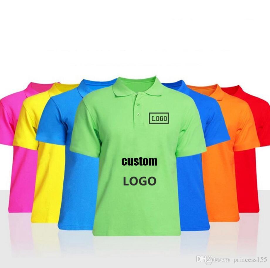 f32a499e4 Compre Paño De La Solapa Del Algodón Puro Uniforme Del Polo Modificado Para  Requisitos Particulares Camiseta De Los Hombres Cultura De La Publicidad  Camisa ...