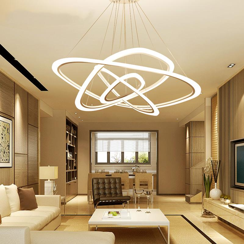 Modern LED Living Room Suspended Lamps Creative Bedroom Fixtures Stunning Light Fixture For Dining Room Creative