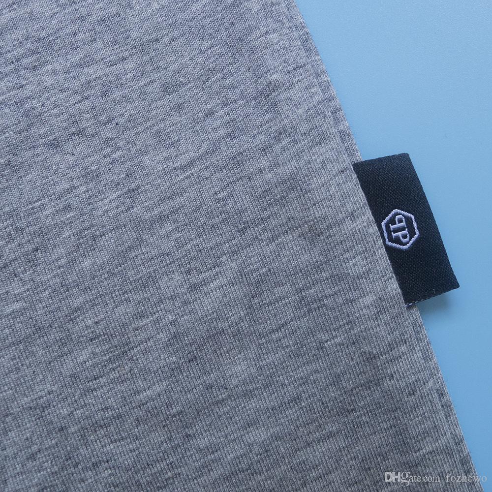 2018 лето новая футболка мужчины 100% хлопок мода животных шаблон тройник Slim Fit высокое качество мыть старинные топы 180137